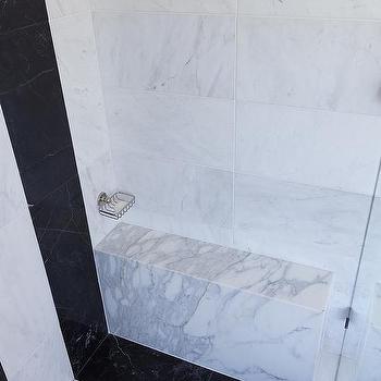 Vertical Striped Shower Wall Tiles Design Ideas