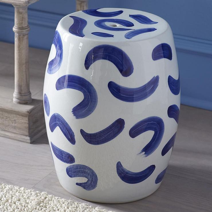 Zen Chinese Blue and White Ceramic Stool & Chinese Blue and White Ceramic Stool islam-shia.org