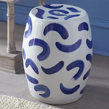 Zen Chinese Ceramic Stool