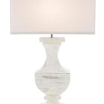 Courtney Ivory Ceramic Table Lamp Base