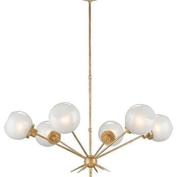Currey and Company Shelly Chandelier