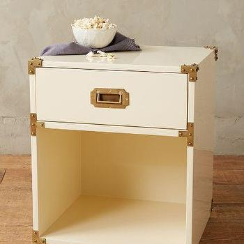 Lacquered Wellington Nightstand