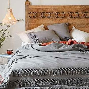 Magical Thinking Net Tassel Duvet Cover, Urban Outfitters
