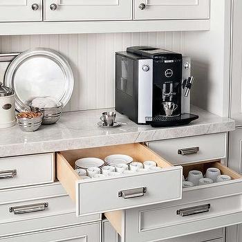 Elegant Kitchen Coffee Station Design Inspirations