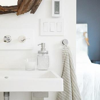 Driftwood Vanity Mirror, Transitional, Bathroom