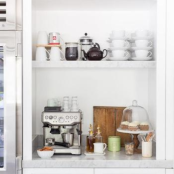 Coffee Station Mini Fridge Design Ideas