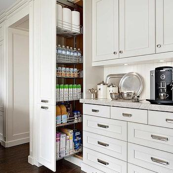 Floor To Ceiling Pull Out Pantry Cabinet