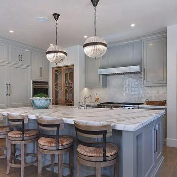 Frosted glass pantry doors transitional kitchen the for Floor to ceiling folding glass doors
