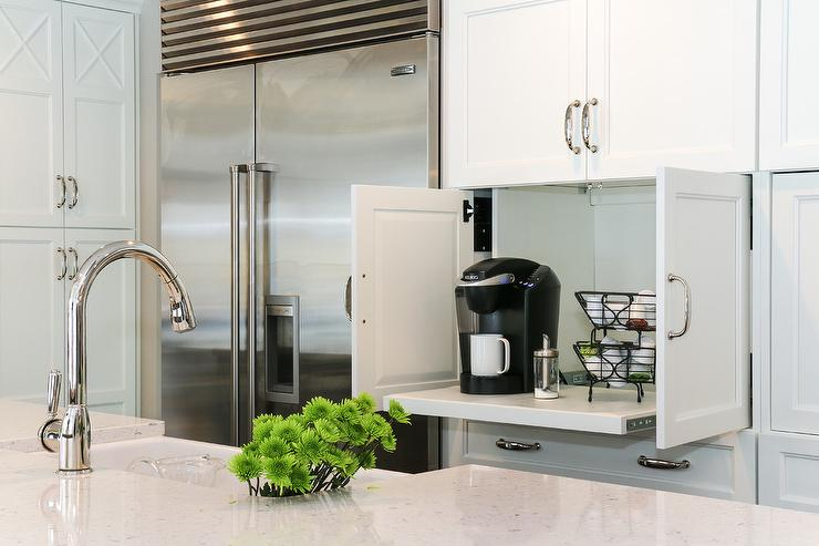Hidden Coffee Station Design Ideas