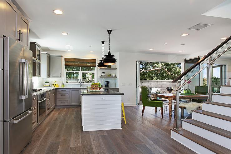 Contemporary L Shaped Kitchen Contemporary Kitchen