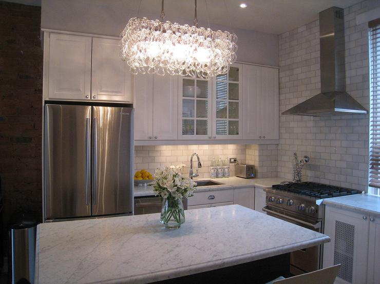 Elegant Kitchen With Ikea Hood