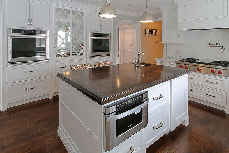 island with microwave drawer transitional kitchen built in microwave within kitchen island