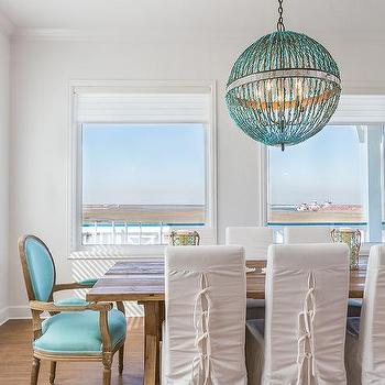 Currey and Company Alberto Orb Chandelier, Cottage, Dining Room