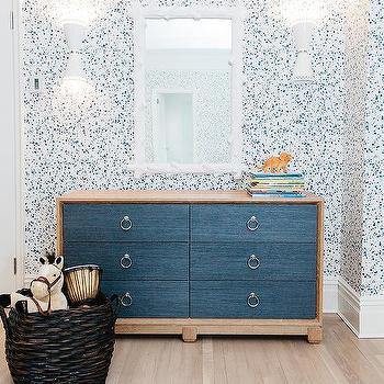 Kids Room with Paint Splatter Wallpaper, Contemporary, Boy's Room