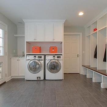 Laundry Room Doggy Door, Contemporary, Laundry Room