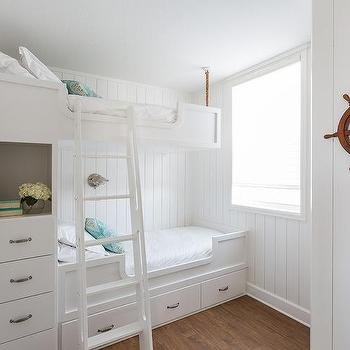 Nautical Kids Bedroom, Cottage, Boy's Room