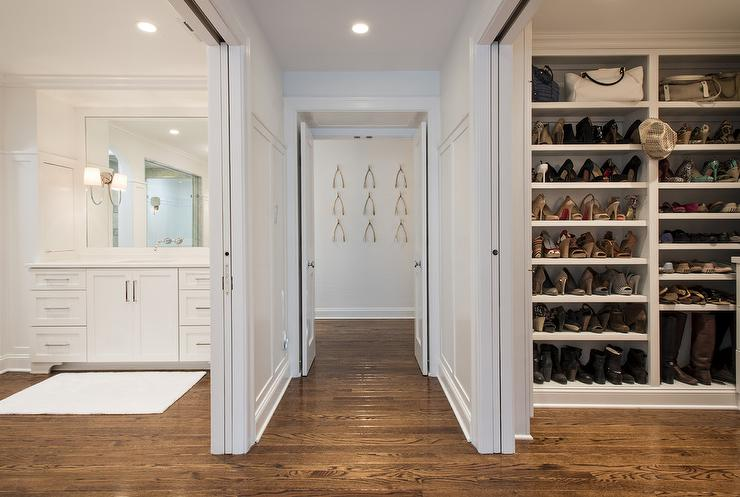 Master Closet With Sliding Doors