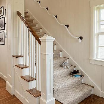 Rope Staircase Rail Design Ideas