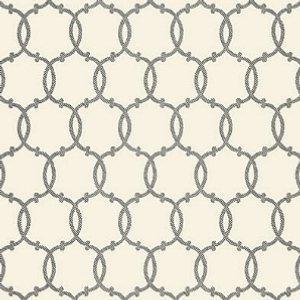 Schumacher Tracery Charcoal Wallpaper