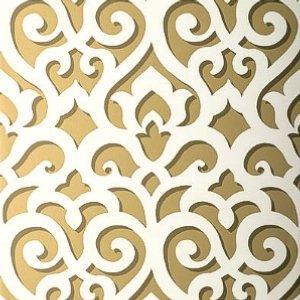 Schumacher Veneto Gold Wallpaper
