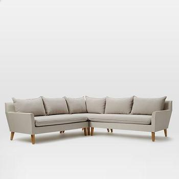 Bliss Outdoor Three Piece Sectional
