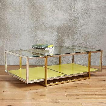 Floating Lacquered Coffee Table