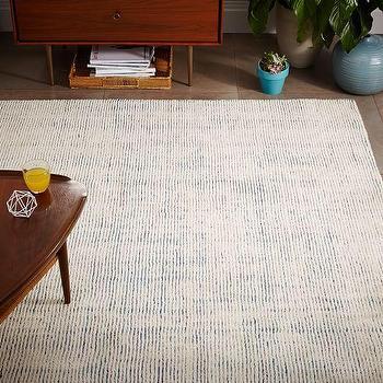 Lagoon Parallels Wool Rug
