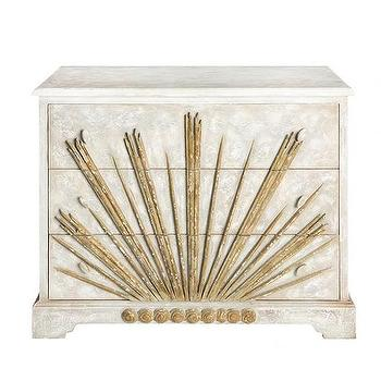 Sallora Dresser in Gold design by Aidan Gray