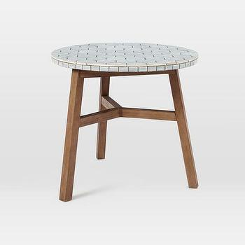 Mosaic Tiled Bistro Table
