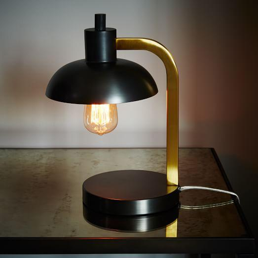 Orson Black And Gold Table Lamp