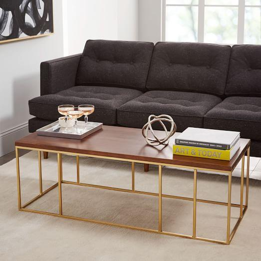 Frame Gold Coffee Table