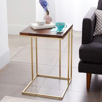 Grid Frame Side Table