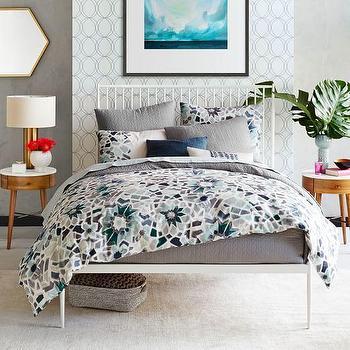 White Stella Metal Bed