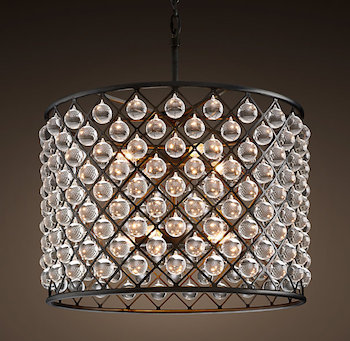 Restoration Hardware Spencer Chandelier Look for Less