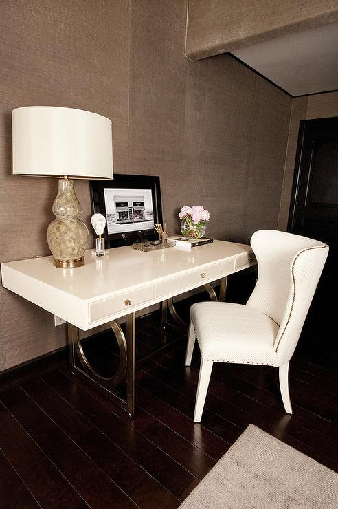 French Wingback Desk Chair Design Ideas