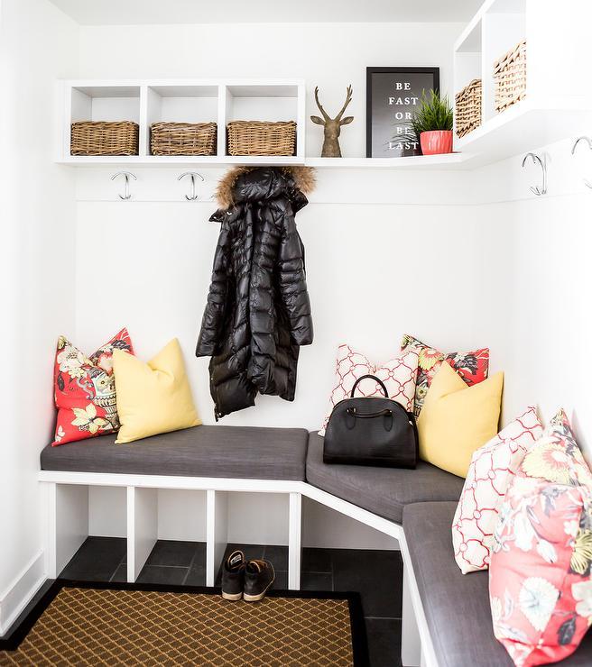 Hooks For Mudroom Coat Hooks Above Mudroom Bench Design Ideas