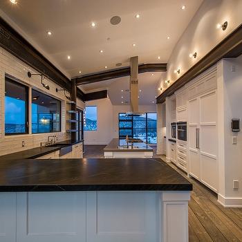 Kitchen with Soapstone Counters, Modern, Kitchen
