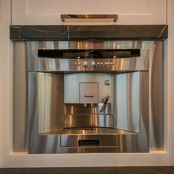 Kitchen thermador integrated coffee machine built in coffee maker jpg