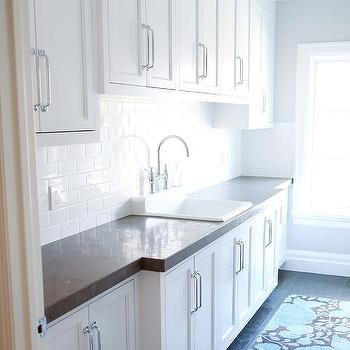 Long Laundry Room Ideas, Transitional, Laundry Room