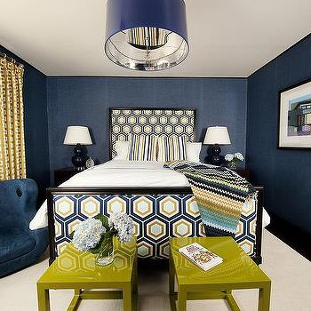 navy blue and gold bedroom gold geometric drapes navy textured