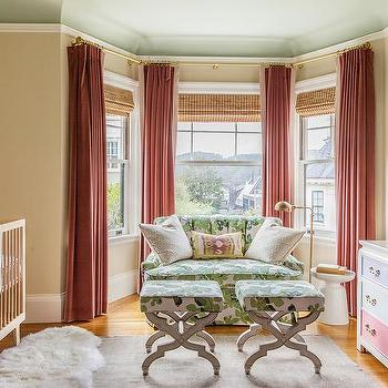 Nursery with Bay Window, Eclectic, Nursery