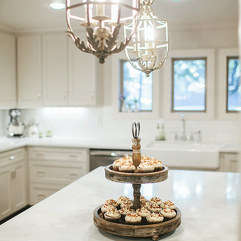 French country kitchen island design ideas white french chandeliers aloadofball Images