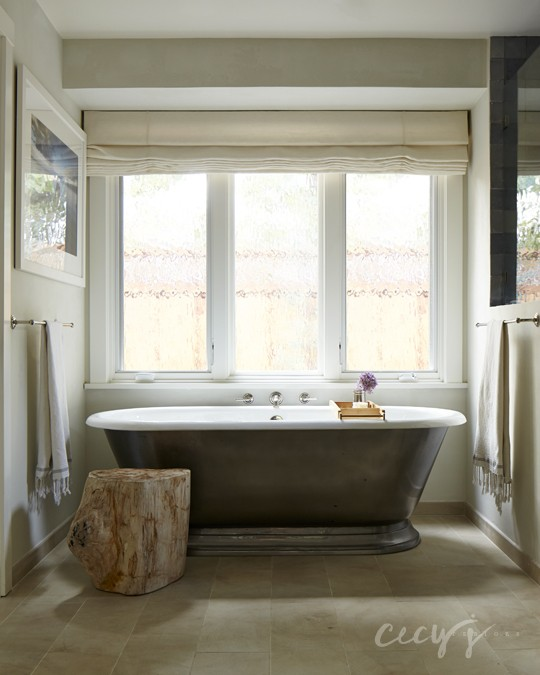 Cast Iron Freestanding Tub - Transitional - Bathroom