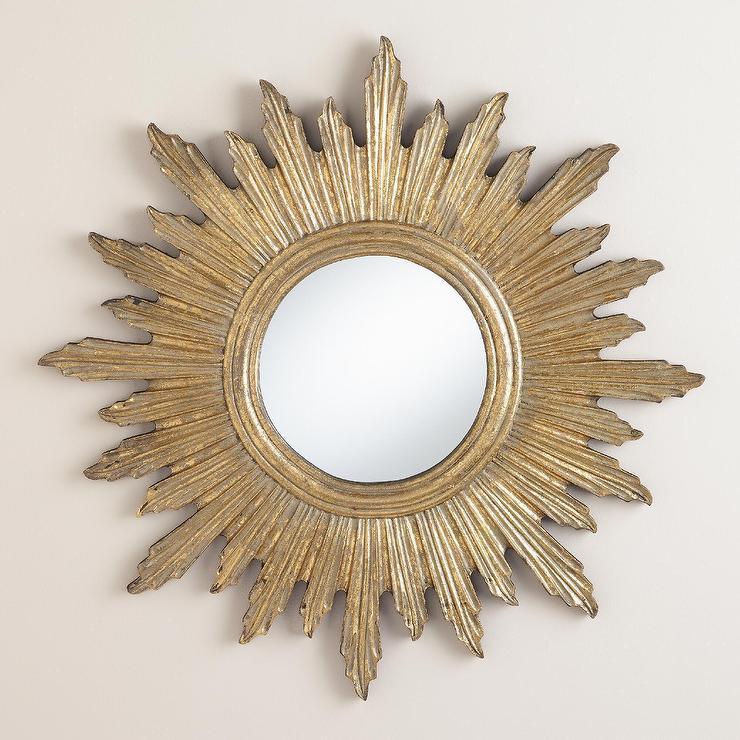 Gold Sole Mirror