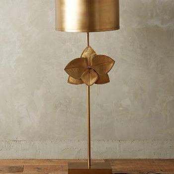 Bronzed Leaflet Floor Lamp
