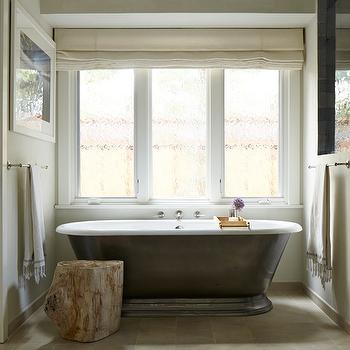 Cast Iron Freestanding Tub, Transitional, Bathroom