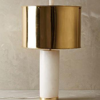 Frosted Marble Lamp Ensemble
