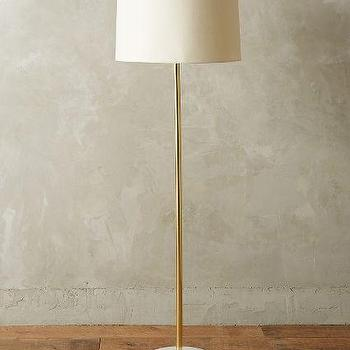 Radiant Alabaster Floor Lamp
