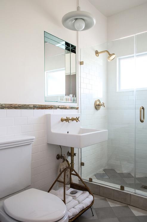 Mirrored Bathroom Niche