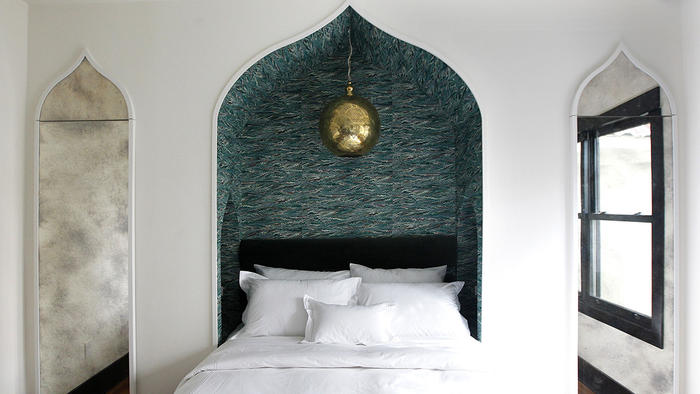 Moroccan Bedroom Design